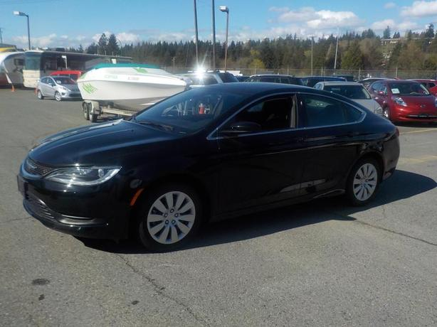2016 Chrysler 200 LX 4 door sedan