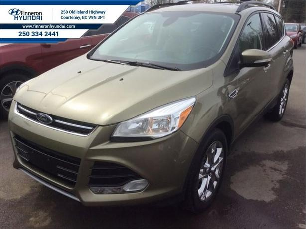 2013 Ford Escape SEL  Leather, Sunroof, AWD