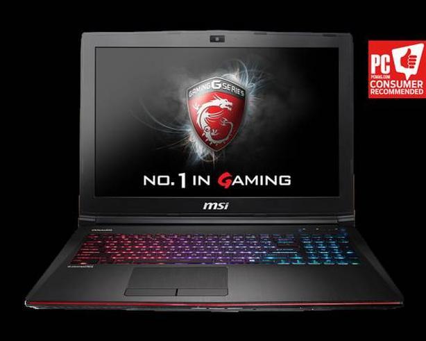 MSI gaming laptop - GE72 2QF(Apache Pro)-247US West Shore