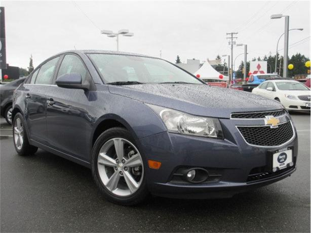 2014 Chevrolet Cruze LTZ  Turbo Low Kilometers Sunroof