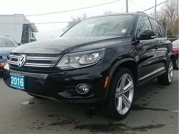 2016 Volkswagen Tiguan 2.0T Highline w/R-Line Package