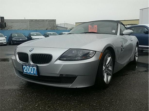 2007 BMW Z4 Convertible 3.0 6sp Manual