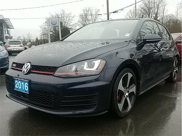 2016 Volkswagen GTI Autobahn 2-dr DSG