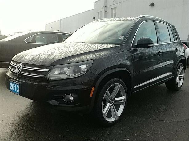 2013 Volkswagen Tiguan 2.0 TSI Highline R-Line Package w/4MOTION
