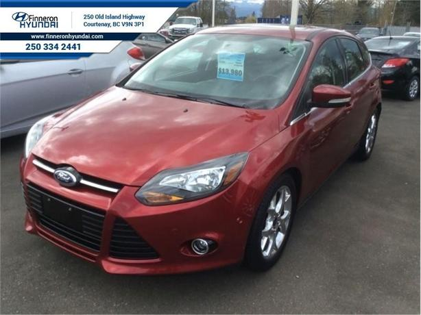 2013 Ford Focus Titanium Hatch  Self Park Assist