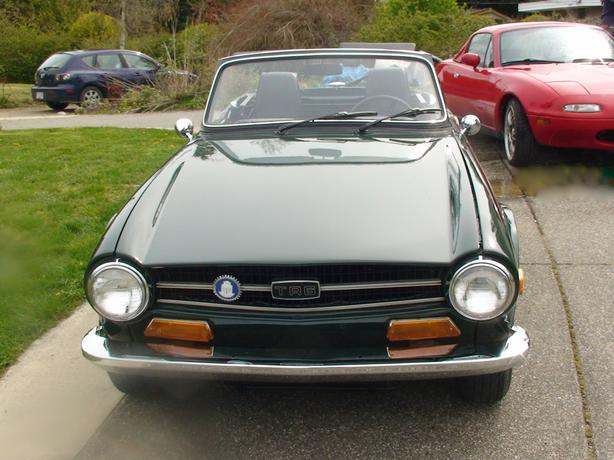 VERY RARE 1969 TRIUMPH TR6 (FIRST YEAR OF PRODUCTION)