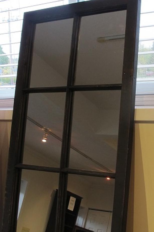 Mirrored Wood Window Frame