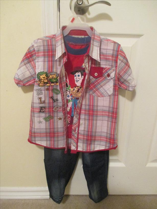 5 year old boy's clothes