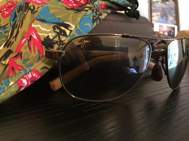 "4f896b5cded Maui Jim sunglasses "" Guardrails"" polorized Saanich, Victoria"