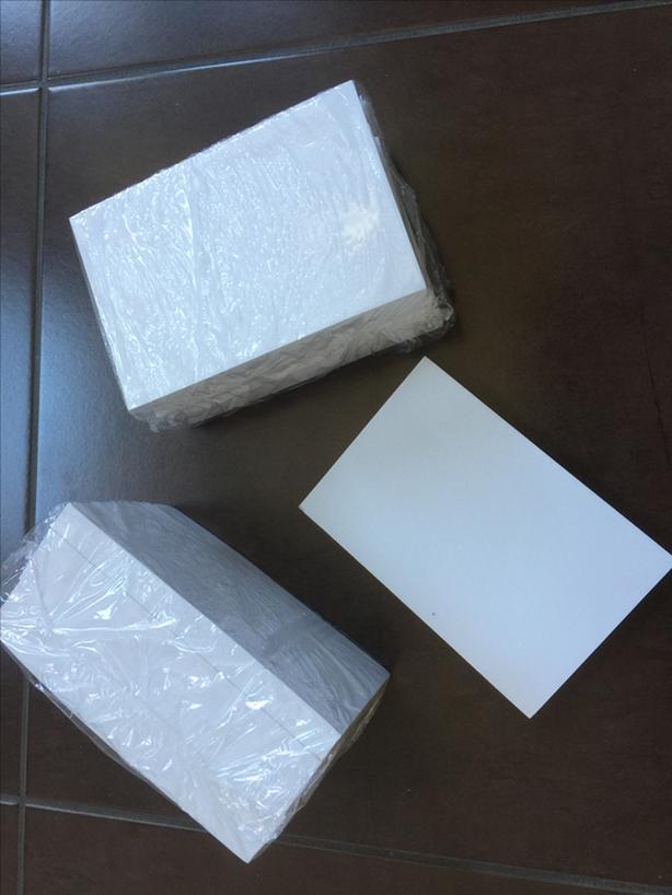 "Glue top note pads 4""x6"" - NEW"