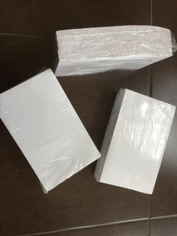 "Glue top note pads 5""x8"" - NEW"