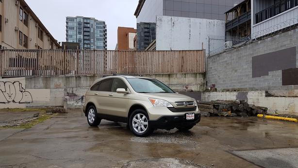 ** 2007 HONDA CRV EX-L 4WD - 141Kms. - Leather - Auto