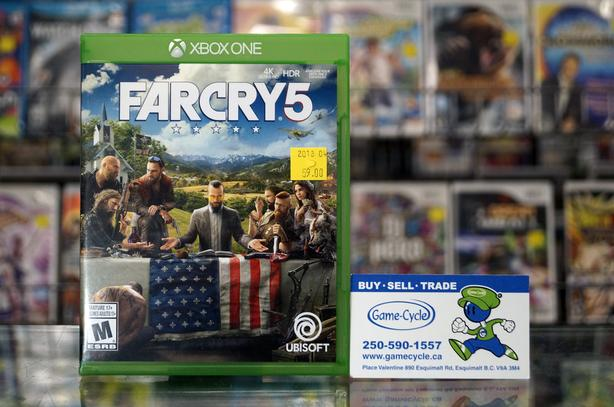 Far Cry 5 For Xbox One @ Game Cycle Esquimalt & View Royal, Victoria