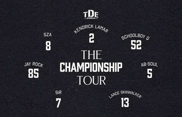 Top Dawg Entertainment: The Championship Tour Tickets