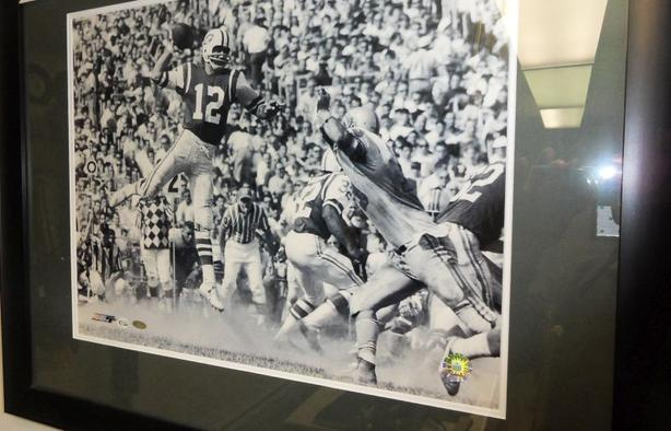 Joe Namath Signed Photo