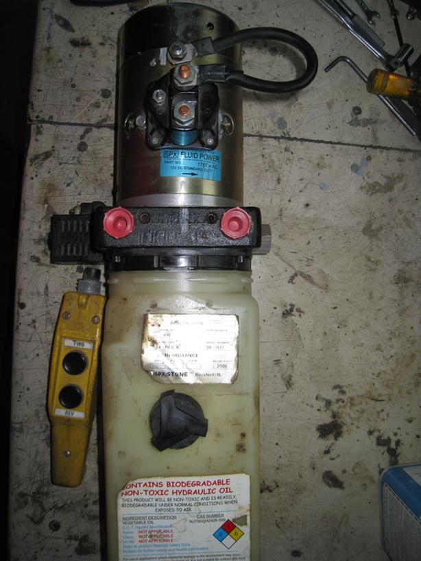 Electric 12V / Hyd pump unit