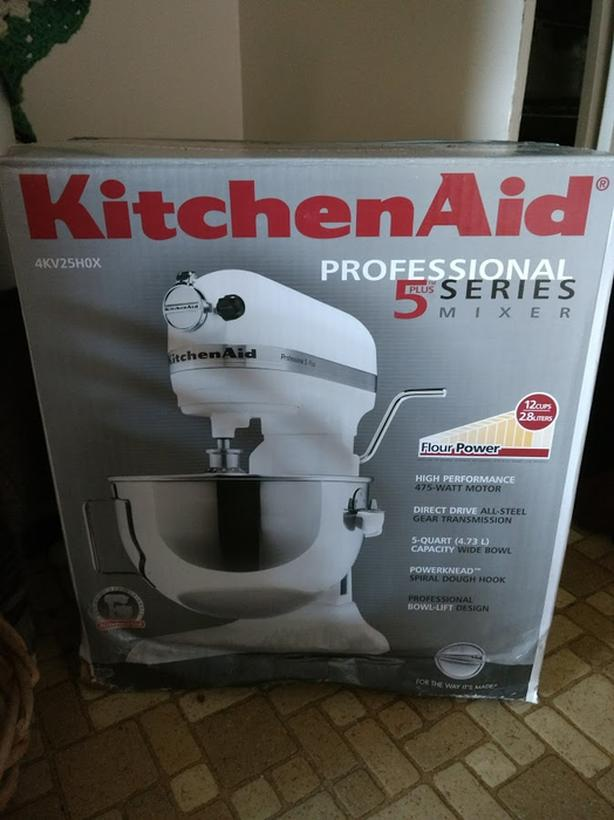 Super Obo Brand New Kitchenaid Professional 5 Plus Series Stand Home Remodeling Inspirations Genioncuboardxyz