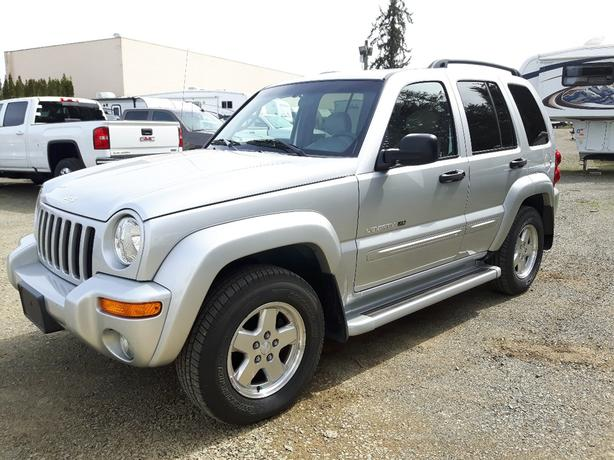 USED 2002 JEEP LIBERTY LIMITED EDITION 4X4 FOR SALE IN PARKSVILLE