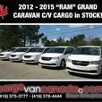 """MORE!! ~ 2O12 - 2O15 """"RAM"""" GRAND CARAVAN C/V... *CARGO* RAM!"""