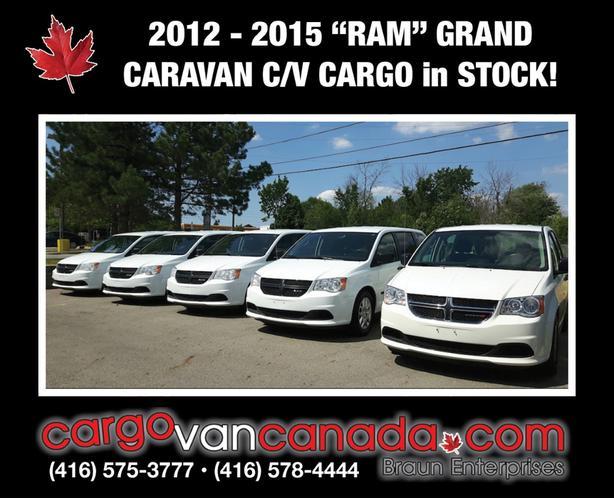 """MORE!! ~ 2O12 - 2O15 """"RAM"""" GRAND CARAVAN C/V... *CARGO* RAM fr. $4600!"""