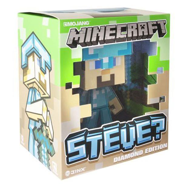 Many New Minecraft - 6 Inch Figure - Vinyl Diamond Steve - $15 each