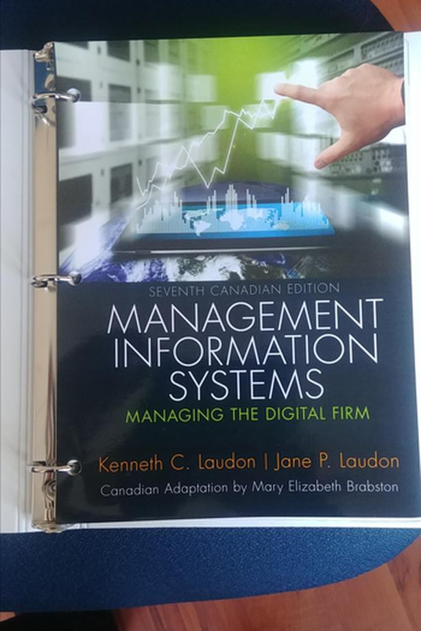 $60 - BUS 241 Management Information Systems