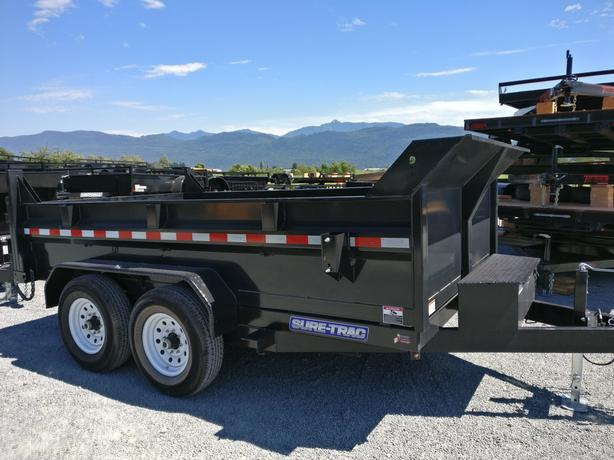NEW SURE-TRAC DUMP TRAILERS DELIVERED TO YOUR DOOR
