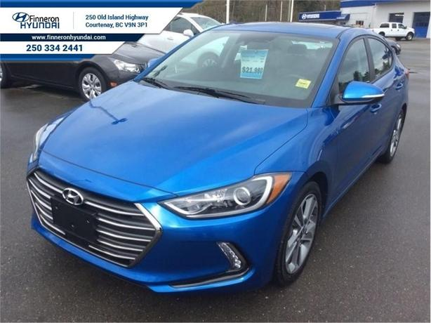 2018 Hyundai Elantra GLS  Leather, Sunroof, Heated Steering Wheel