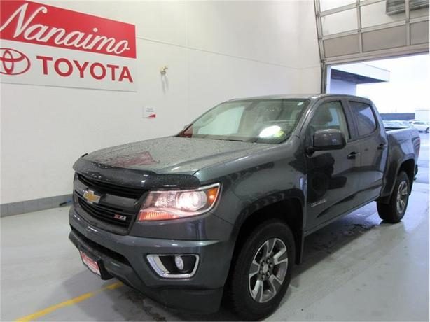 2015 Chevrolet Colorado 4WD Crew Cab Z71