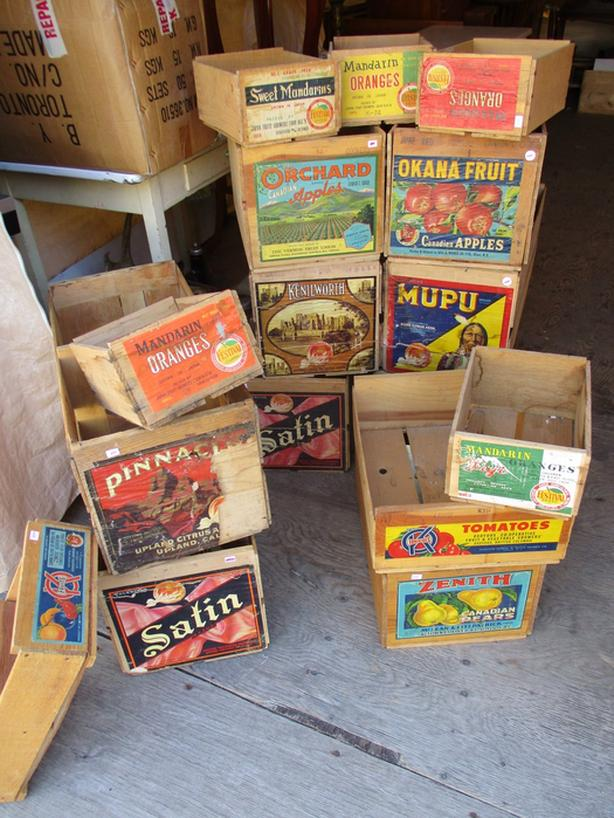 VINTAGE BOXES FROM ESTATE