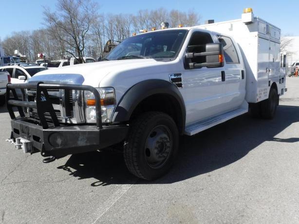 2010 Ford F-550 Crew Cab Dually 4WD Diesel