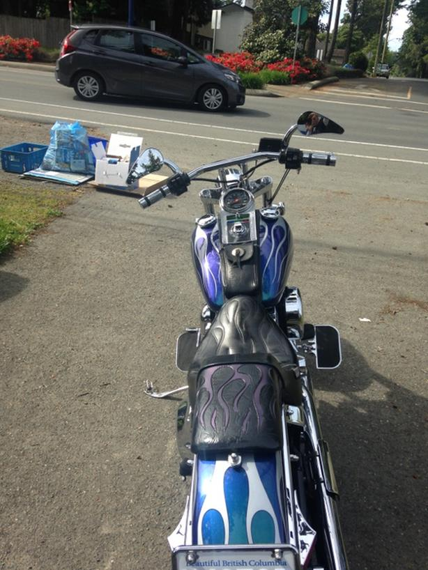 1994 Softail Custom Wide Glide West Shore: Langford,Colwood