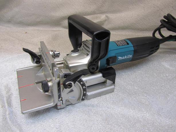 156705 3 Lightweight And Compact Makita Pj7000 Biscuit Joiner
