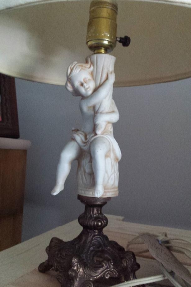 Vintage accent Lamp