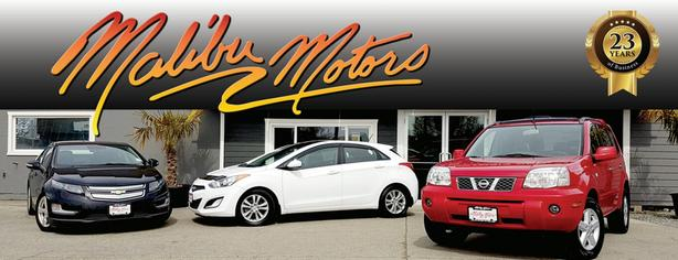 FEEL AT HOME WITH MALIBU MOTORS