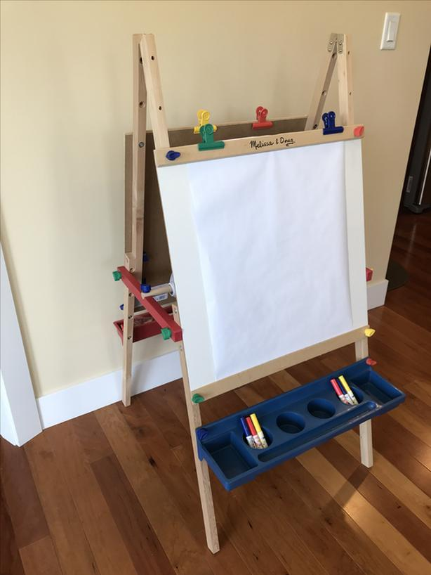 Log In Needed 50 Wooden Standing Art Easel By Melissa And Doug