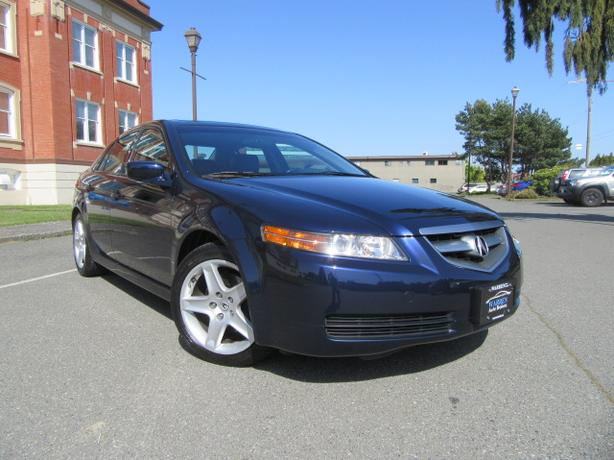 Acura TL Low Kms Navigation Bluetooth Leather Victoria City - 2006 acura tl navigation