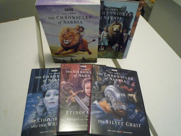 Log In Needed 20 Bbc C S Lewis The Chronicles Of Narnia 4 Movie Box Set Mint Condition