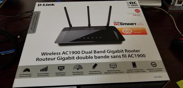 D-Link Wireless AC1900 Dual Band Gigabit Router (DIR-880L)