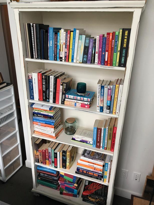 Distressed Bookshelf Vancouver City