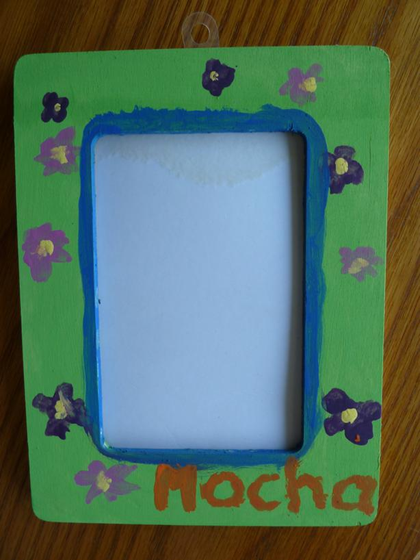 wood picture frame 4 x 6 for re-painting