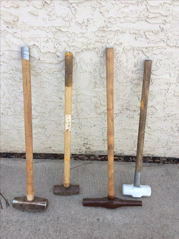 SLEDGE HAMMERS AND PICK AXES FOR SALE
