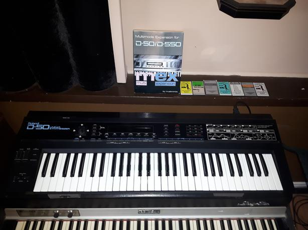  Log In needed $1,000 · Roland D50 vintage synthesizer