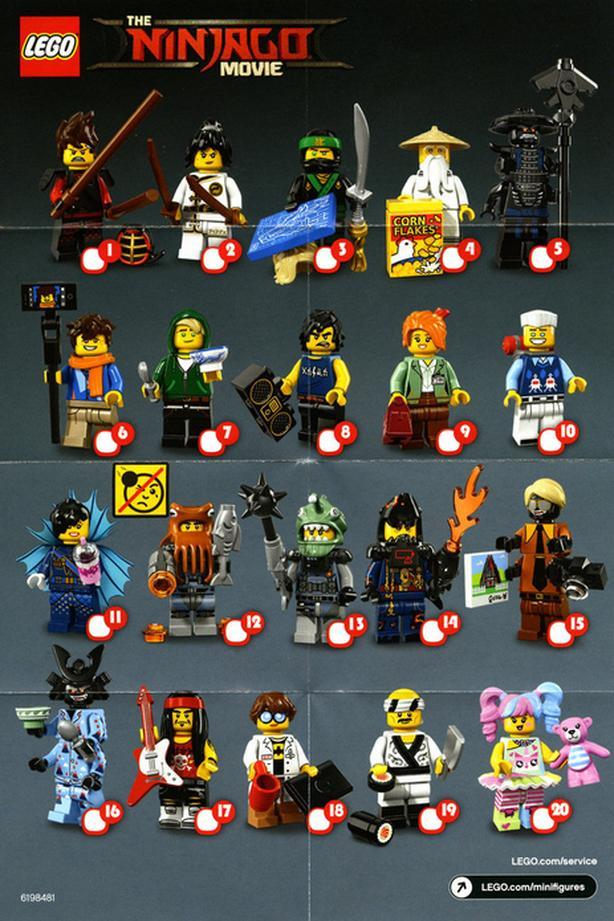 LEGO Ninjago Movie Minifigures Central Saanich, Victoria