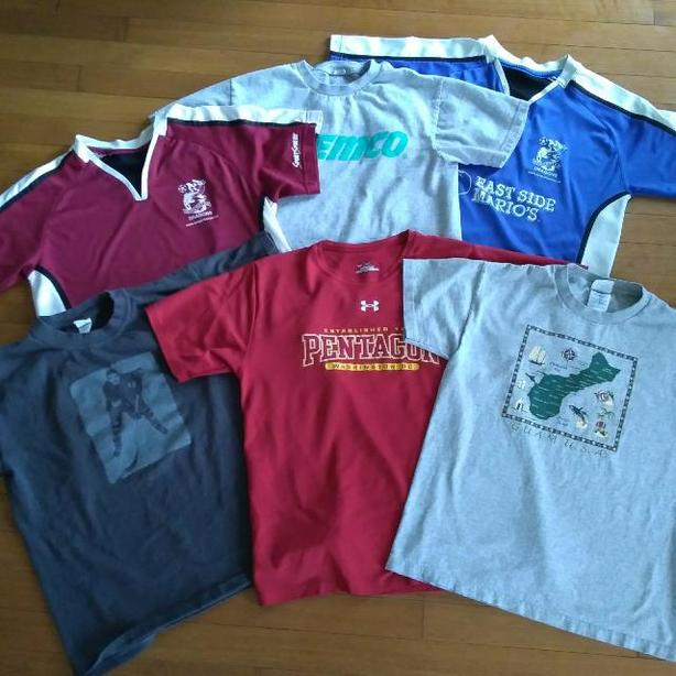 LOT #2: SIZE 14-16 T-SHIRTS