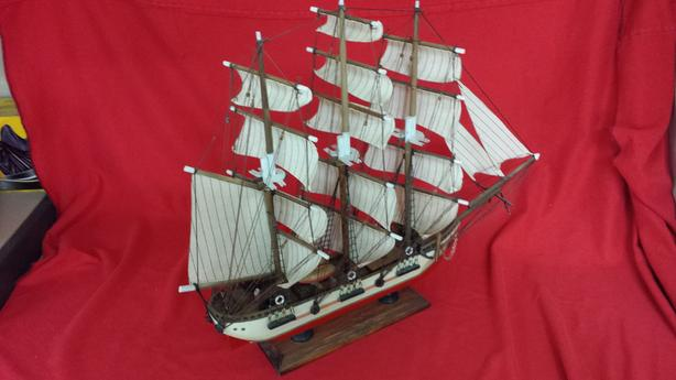 Model Wooden Ship