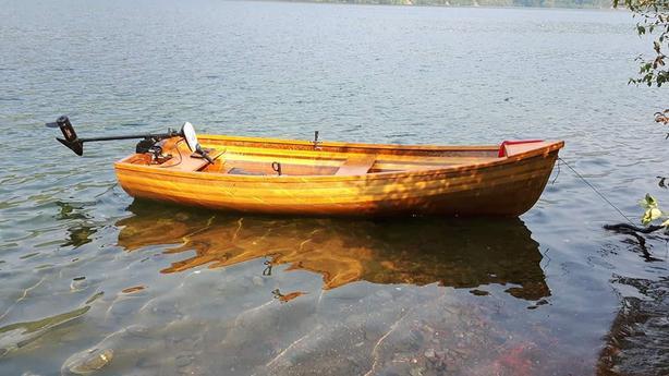 Cedar Row Boat