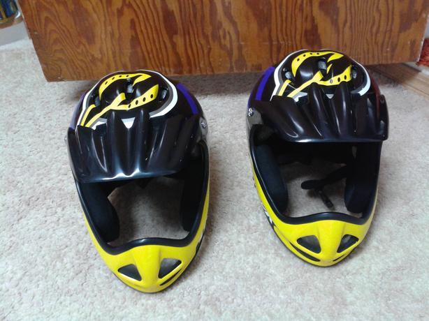 2 Quad Helmets ($50 each)