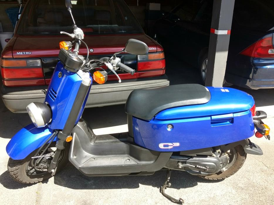 $1,600 · 2007 Yamaha XF50 C3 50cc scooter - no motorcycle licence needed