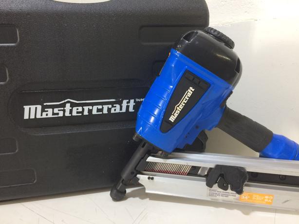 Mastercraft Framing Nail Gun, 3-1/2-in , Barely Used